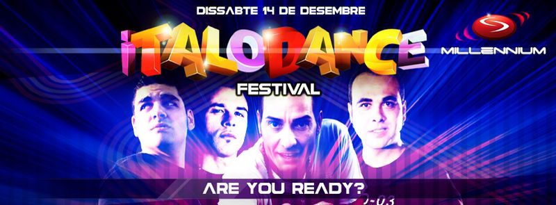 DJ POWER @ Millennium & Cosmic Club (Sils, Girona) SPAIN ITALODANCE FESTIVAL 14-12-2013